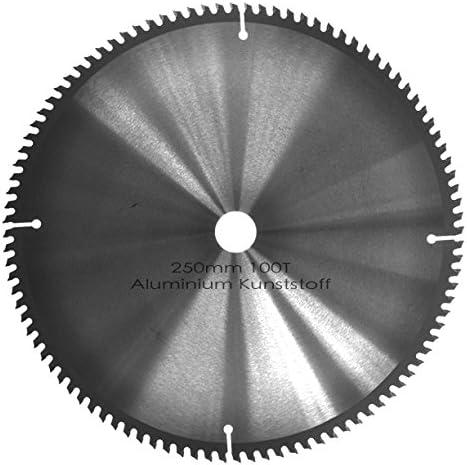 Erbauer Alu Kreissägeblatt 255 x 2.8 x 30 mm 80 Zähne Sägeblatt für Aluminium