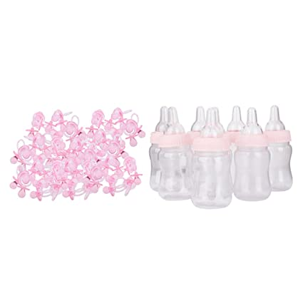 non-brand Sharplace Mini Chupete de Encanto Biberon para Baby Shower ...