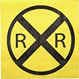 Railroad Sign Beverage Napkin (16 pack) Train, Transportation and Railroad Party Collection by Havercamp