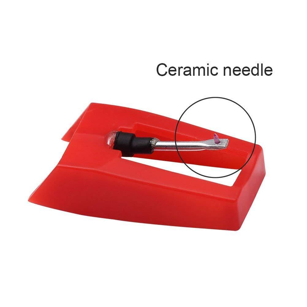 4 agujas de diamante, sistema de pastilla y aguja para ...