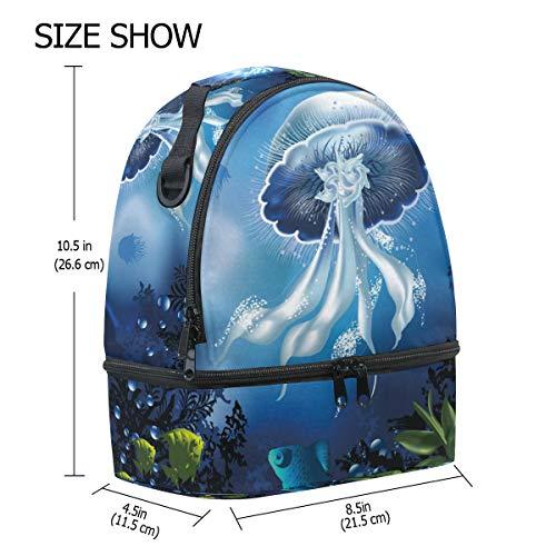 Bolsa de para de escuela hombro almuerzo mar para caballito de Alinlo ajustable correa pincnic el para con con aislamiento la R4dUqZ
