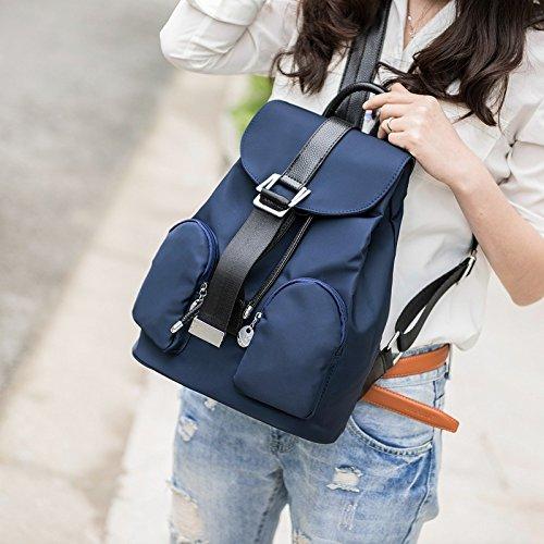 Woman 2018 2018 Fashion Bag Shoulder Woman Trend Black Blue Fresh qEppRfwr5