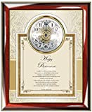 Retirement Gift Clock Frame Personalized Best Wishes Clock Retiree Coworker Employee Friend Boss Poetry Colleague Service Award Recognition Plaque Clock