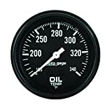 "Auto Meter 2314 Auto Gage 2-5/8"" Mechanical Oil Temperature Gauge"