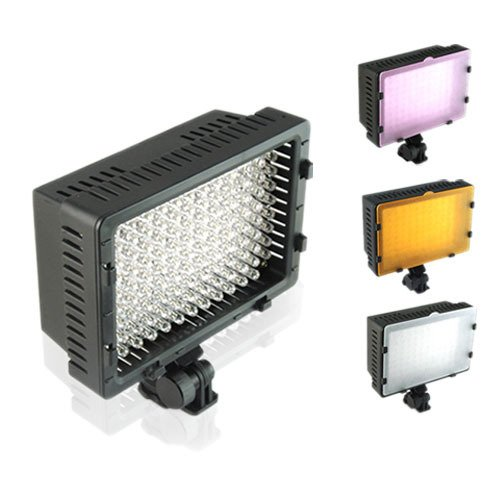 Pro 126-led Video Light Lamp for Canon 450d 500d 400d 60d Camera