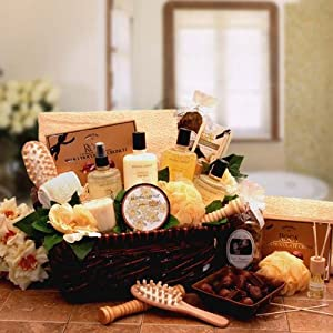 spa gift basket spa relaxation gift