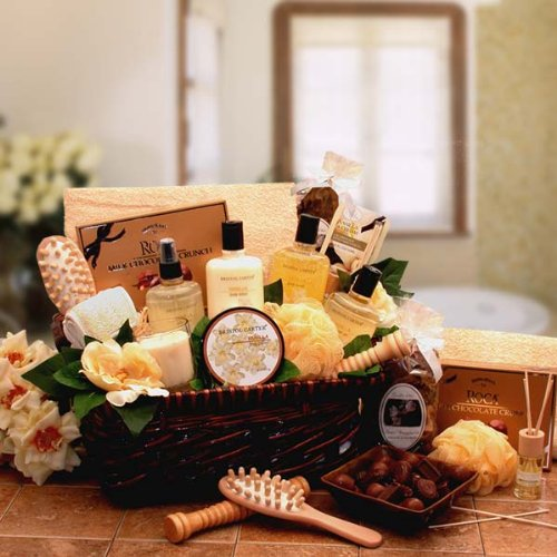 Therapy Bath and Body Spa Basket for Women - Mothers Day Gift Idea for Her