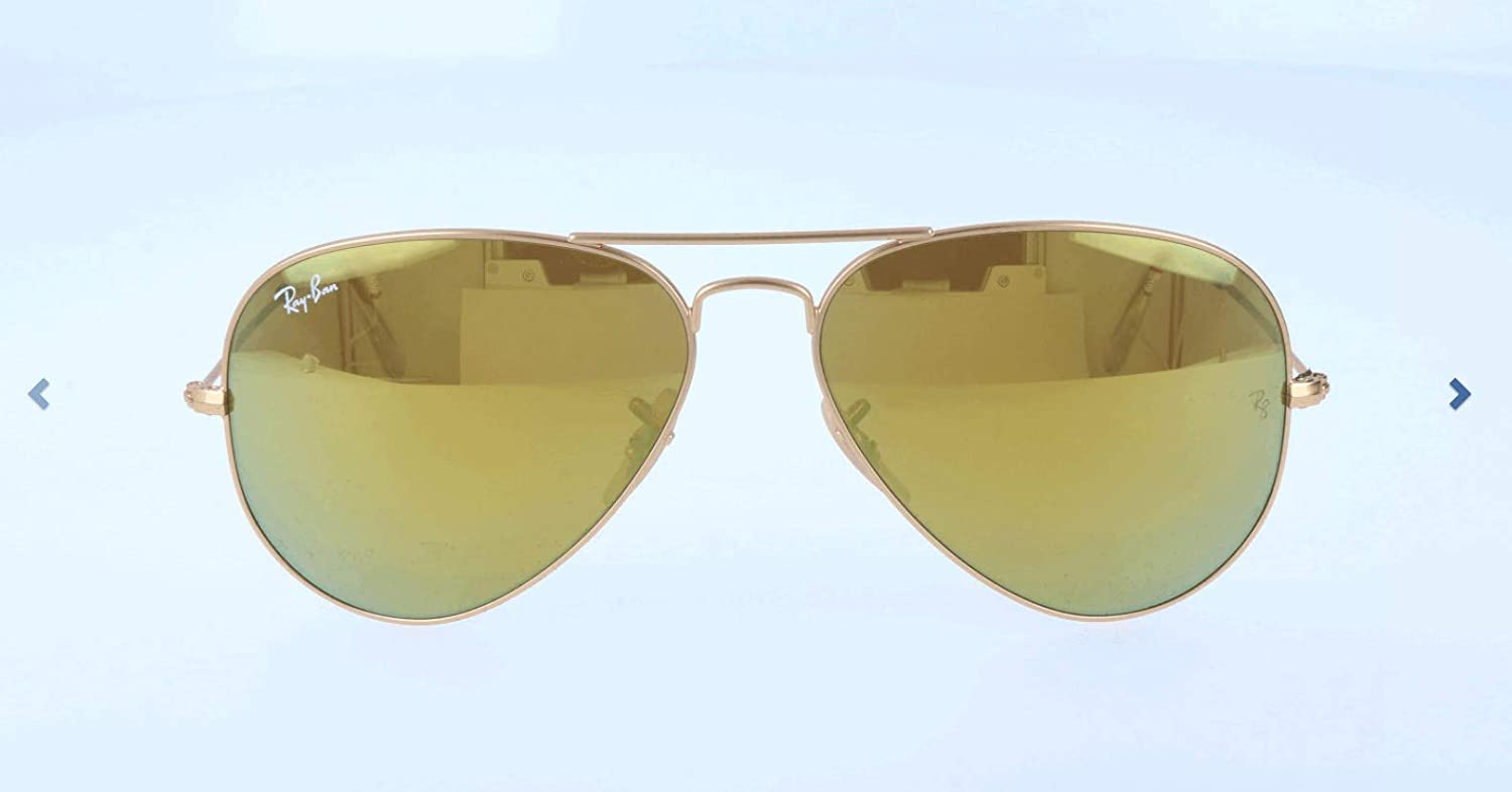 Amazon.com: Ray-Ban 3025 112/93 Gold 3025 Aviator Aviator ...