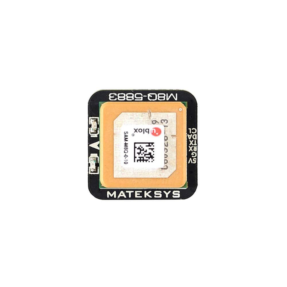 Leoie Matek Systems M8Q-5883 Ublox SAM-M8Q GPS & QMC5883L RCドローンFPVレーシング用コンパスモジュール   B07KKBHLMM