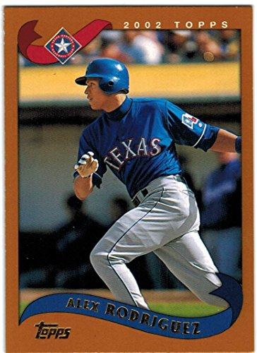 2002 Topps Texas Rangers Team Set with 2 Ivan Rodriguez & Alex Rodriguez - 22 Cards