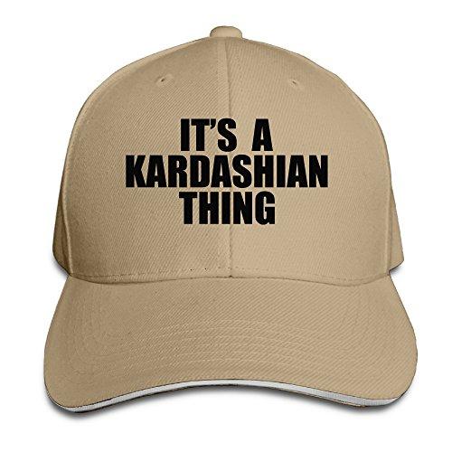 MARC Custom Kim Kardashian Adult Sun Cap Hats - Brown Doc Twitter