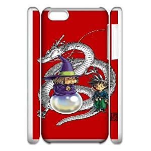 iphone6 Plus 5.5 3D Cell Phone Case White DragonBall Plastic Durable Cover Cases derf6991337