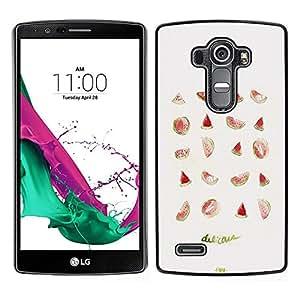 Dragon Case - FOR LG G4 - aman should fear - Caja protectora de pl??stico duro de la cubierta Dise?¡Ào Slim Fit