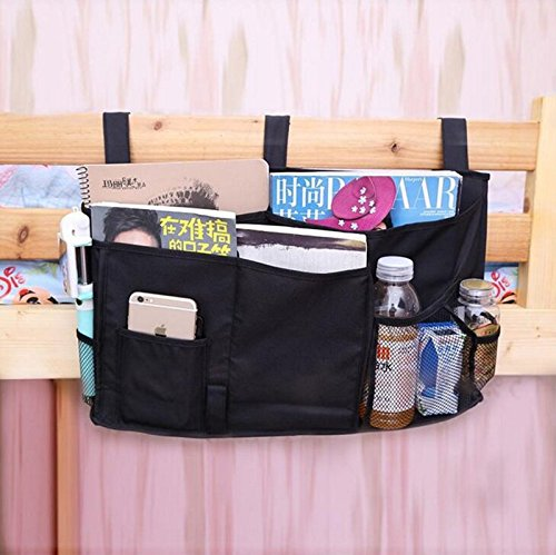 OFKP/® Bedside Storage Organizer//Beside Caddy//Table Cabinet Storage Organizer Multifunctional Cellphone Books Magazine Organizer Hanging Bags