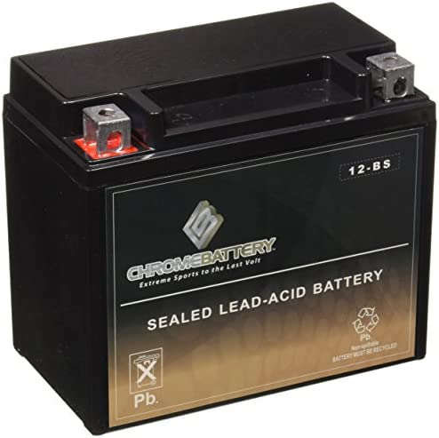 YTX12-BS High Performance - Maintenance Free - Sealed AGM Motorcycle Battery