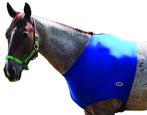 derby-originals-lycra-horse-shoulder-guard-blue-large