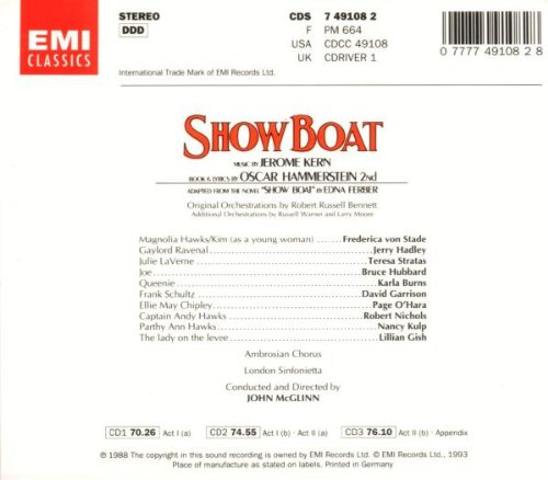 Show Boat (1988 Studio Cast)