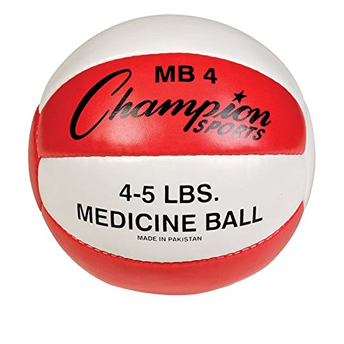 Champion Sports Leather Medicine Ball product image