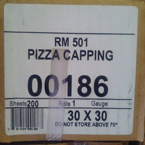 Pizza Film - Robbie Manufacturing Shrink Stretch Film Wrap for Pizza Capping (200, 30