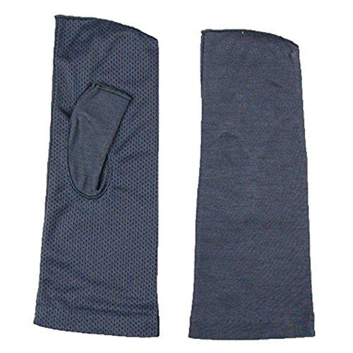 紫外線をしっかりガード!!清涼メッシュUVカット指なし手袋