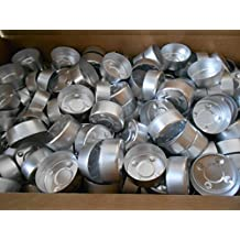 100 Aluminum Candle Tea Light Containers Cups