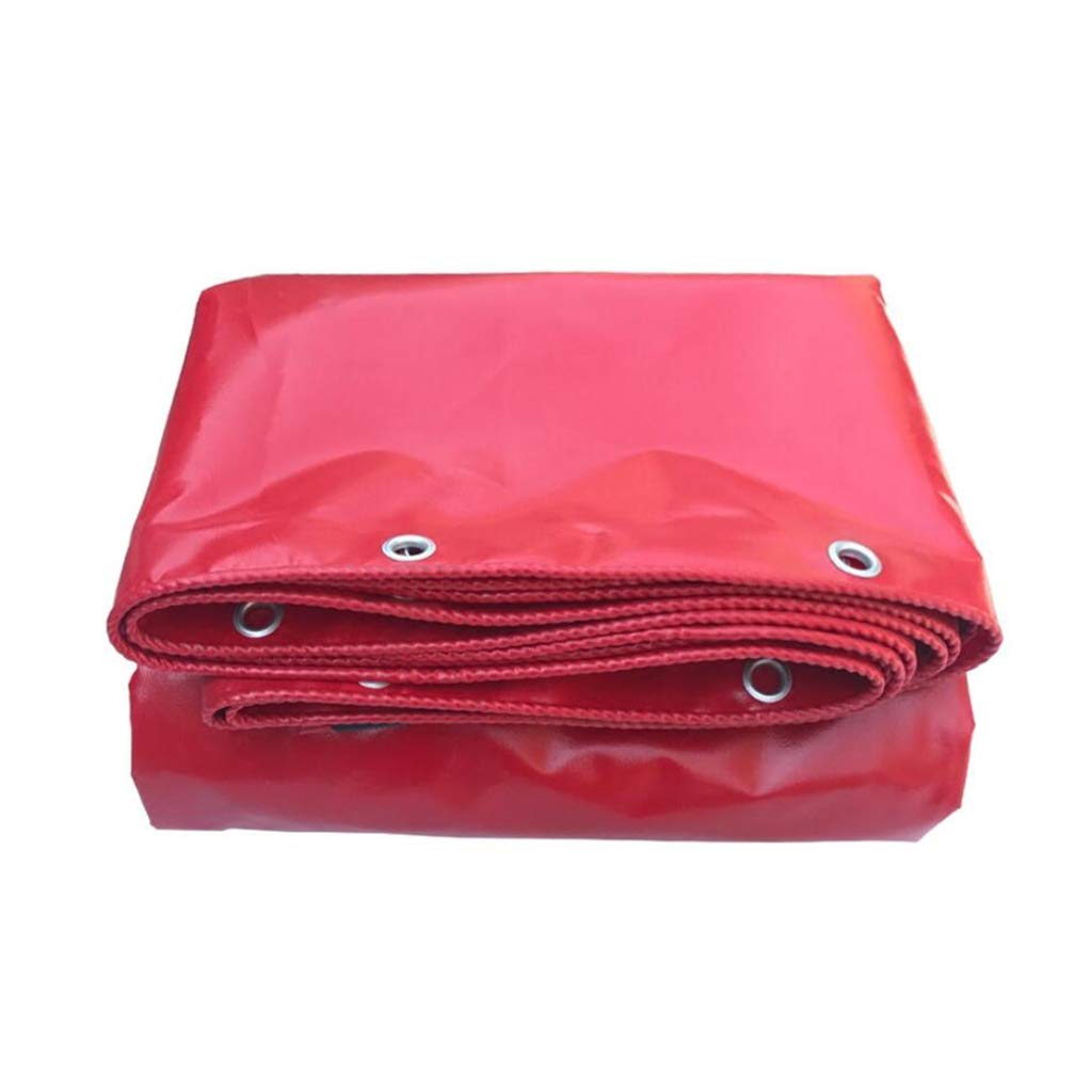 Home warehouse Plane Thicken rot Wasserfeste Sonnencreme Regenschutztuch Outdoor Shade Shed Tuch Frachtschutz Canvas Plane