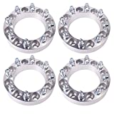 Orion Motor Tech 4pcs Wheel Spacers / Adapters for Dodge Ram 2500 3500 Ford F250 F350 - 8 Lug 8x6.5 / 8x165.1 - 1.5