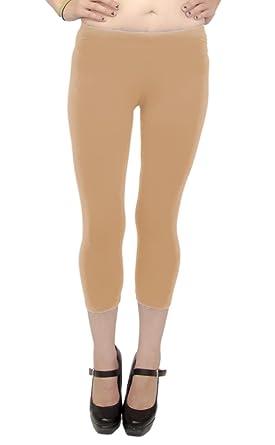 Vivian's Fashions Capri Leggings - Cotton (Misses and Misses Plus ...