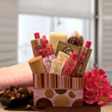 A Day At The Spa Gift Box Set - Bath and Body Gift Basket