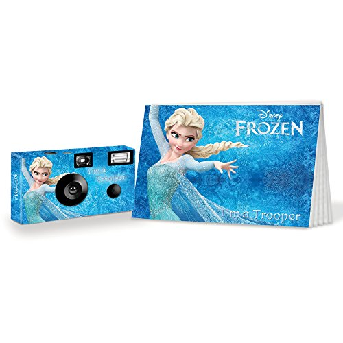 Frozen I'm a Trooper Camera and Photo Album Set. Be Brave. Be Strong. (PK106)