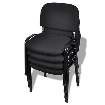 Chaise De Bureau 4 Pieces Amazon Co Uk Kitchen Home
