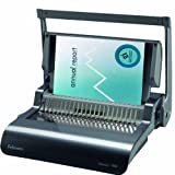 Fellowes 5227201 Quasar Plus 500 Manual Comb Binding Machine with Starter Kit Shredder