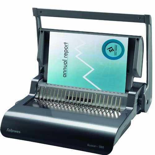 (Fellowes Binding Machine Quasar+ Comb Binding (5227201))