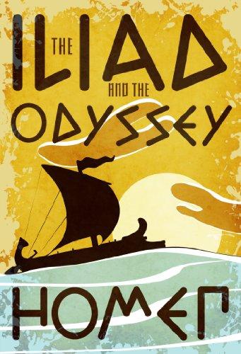 Iliad and the Odyssey (Fall River Classics)