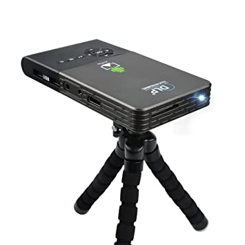 OTHA Mini Proyector Android 4.4, Portátil DLP LED Video Proyectors ...