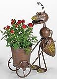 Gartenfigur Ameise Pflanztopf Metallfigur - H44cm