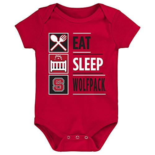 NCAA by Outerstuff NCAA North Carolina State Wolfpack Newborn & Infant