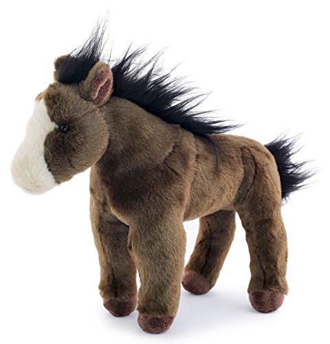 Hazel the Brown Horse | 12 Inch Stuffed Animal Plush | By Tiger Tale (Tiger Eye Horse)