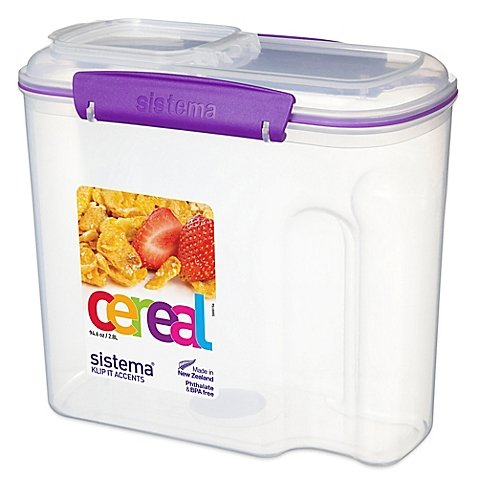 Sistema 12-Cup Cereal Container in Purple (Sistema Cereal Container compare prices)