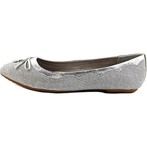 White Mountain 'Abra de mujer sandalias Silver-Glitter