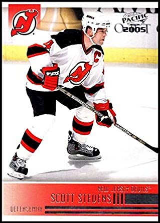670148f144b 2004-05 Pacific #162 Scott Stevens New Jersey Devils Official NHL Hockey  Trading Card