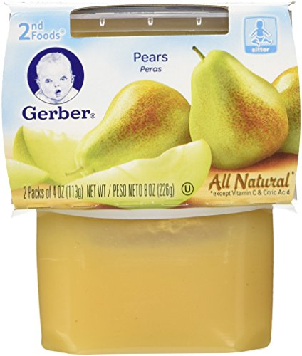 Gerber Foods Pears Ounce Count product image
