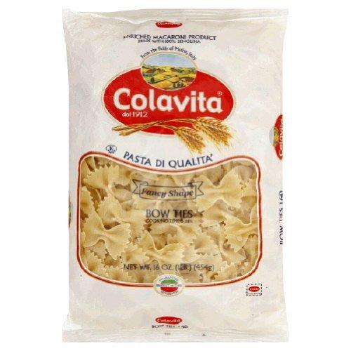 COLAVITA PASTA,FARFALLE - 16 OZ - CS x20