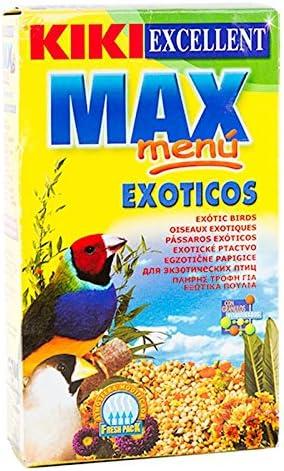 KIKI MAX MENU EXOTICOS