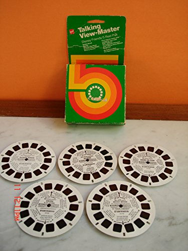 View Master gaf Talking Disney Friends 5 Reel Pack for sale  Delivered anywhere in USA