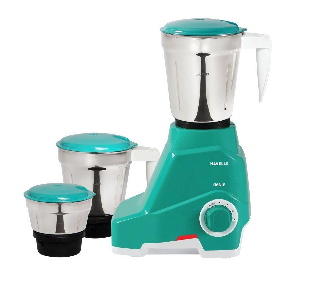 Buy Havells Genie 500 Watt Juicer Mixer Grinder Green Online At