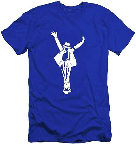 JJZHY Traje de Michael Jackson, Camiseta de algodón para Hombre, Tendencia Conmemorativa de Michael Jackson: Amazon.es: Deportes y aire libre