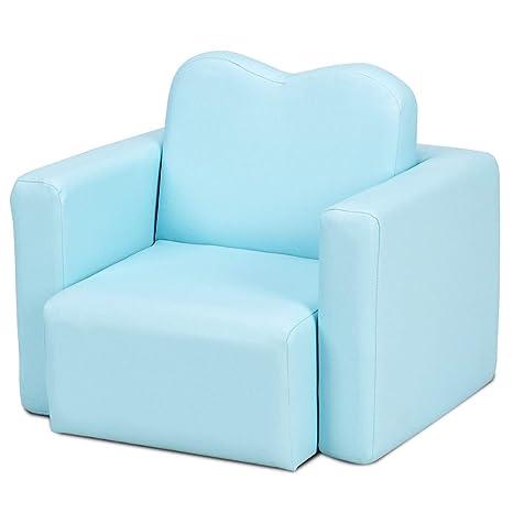 Amazon.com: LAPHs Multi Functional Kids Armchair Sofa Table ...