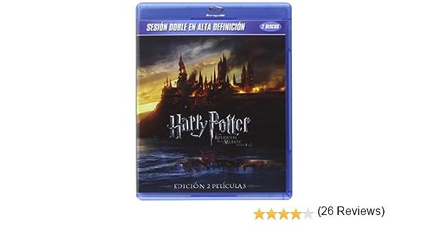 Pack Harry Potter Y Las Reliquias De La Muerte Partes 1 + 2 Bluray Blu-ray: Amazon.es: Daniel Radcliffe, Emma Watson, Rupert Grint, David Yates, Daniel Radcliffe, Emma Watson: Cine y Series TV