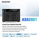 Asustor AS6208T | Network Attached Storage + Free